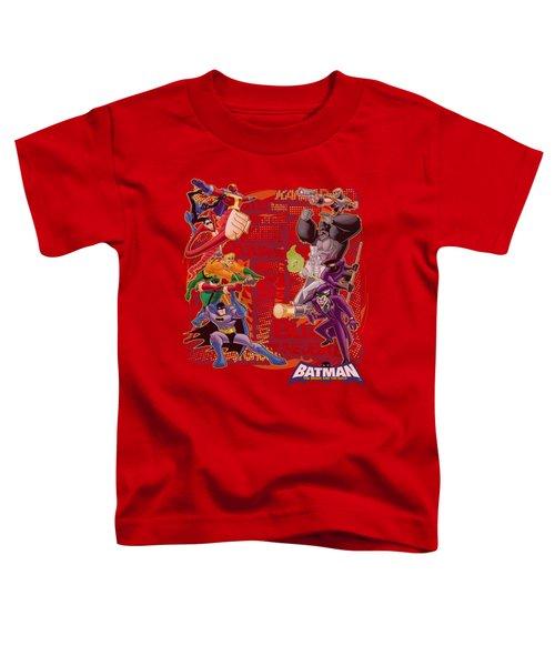 Batman Bb - Good Vs Bad Toddler T-Shirt