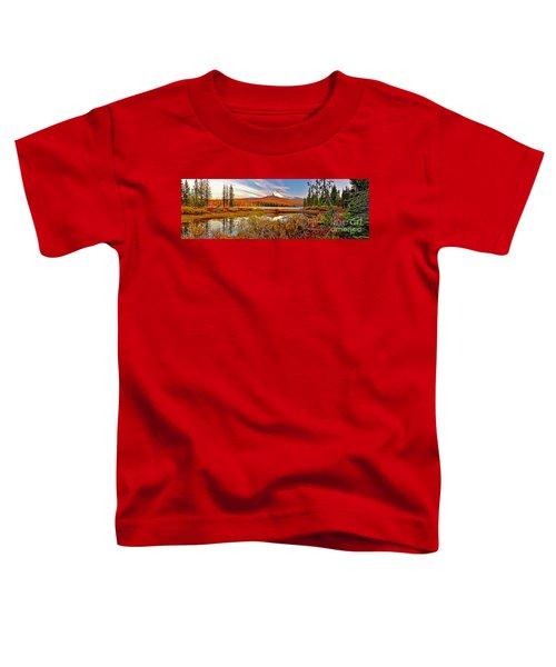 Big Lake And Mt Washington Oregon Toddler T-Shirt