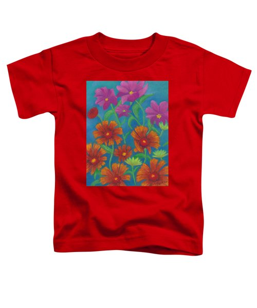 Blanket Flowers And Cosmos Toddler T-Shirt