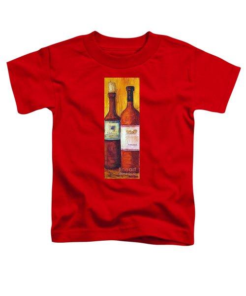 Bordeaux Vino Toddler T-Shirt