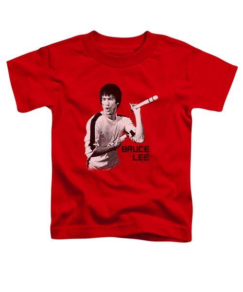 Bruce Lee - Nunchucks Toddler T-Shirt