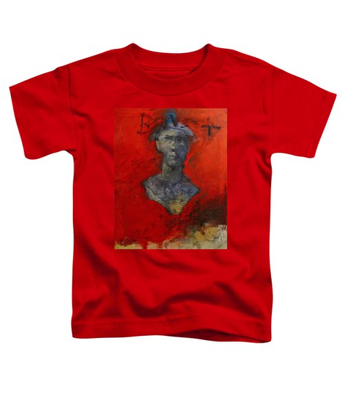 Bust Ted - With Sawdust And Tinsel  Toddler T-Shirt
