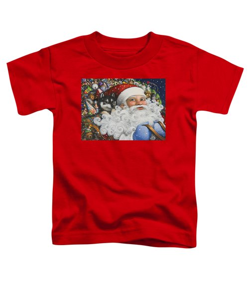 Christmas Stowaway Toddler T-Shirt