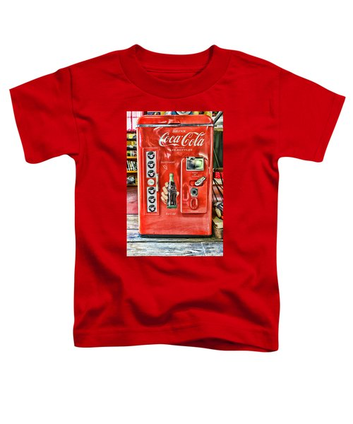 Coca-cola Retro Style Toddler T-Shirt