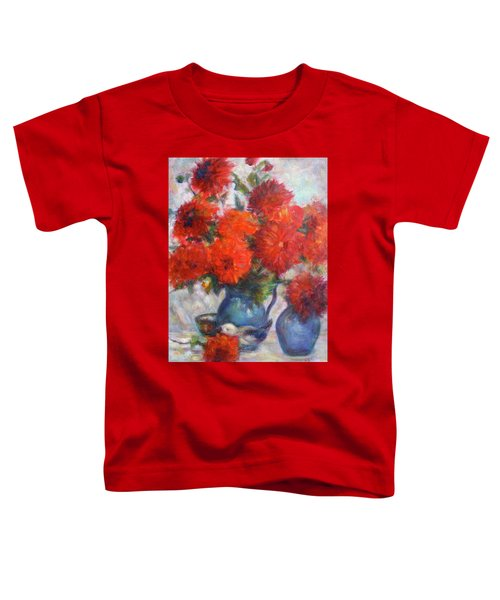 Complementary - Original Impressionist Painting - Still-life - Vibrant - Contemporary Toddler T-Shirt