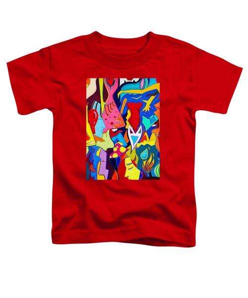 Controlled Chaos Toddler T-Shirt