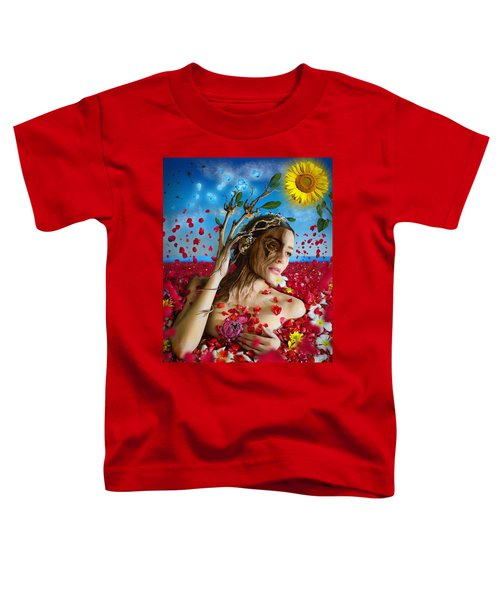 Dafne   Hit In The Physical But Hurt The Soul Toddler T-Shirt