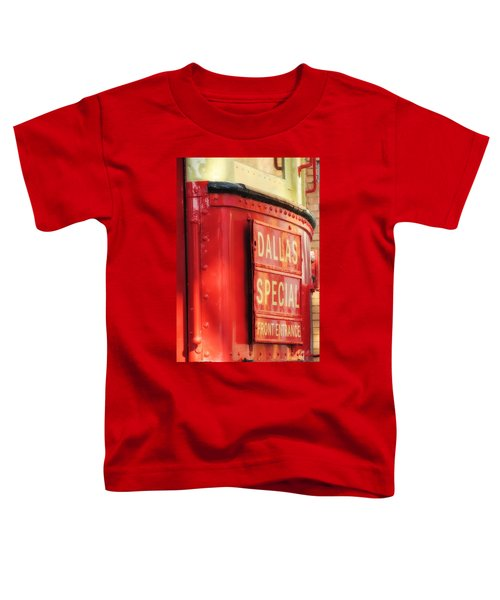 Dallas Special Front Entrance Toddler T-Shirt