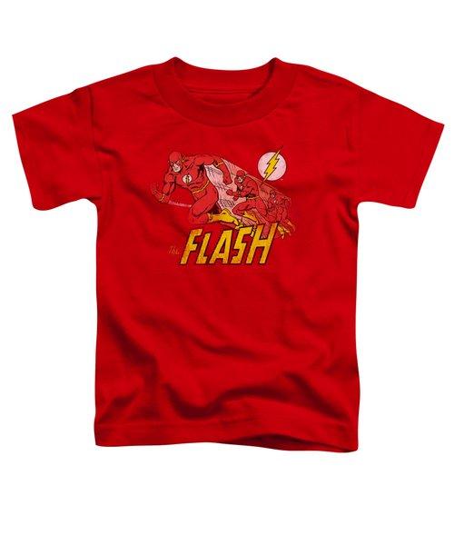 Dc - Crimson Comet Toddler T-Shirt