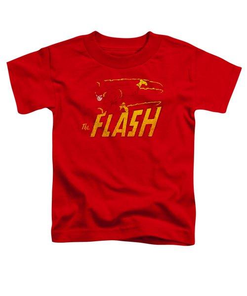 Dc - Flash Speed Distressed Toddler T-Shirt