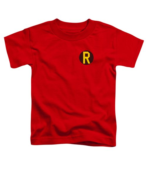 Dc - Robin Logo Toddler T-Shirt by Brand A