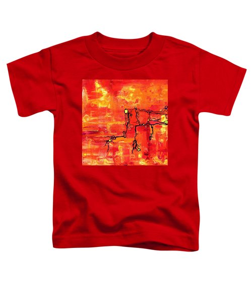 Dendritic Echoes Toddler T-Shirt