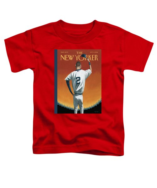 Derek Jeter Bows Out Toddler T-Shirt