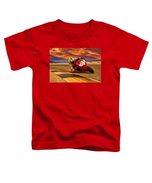 Domenic Caluori At Speed Toddler T-Shirt