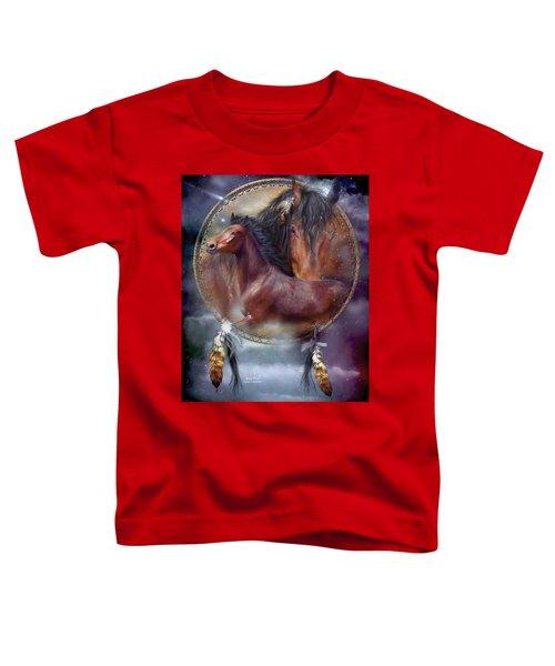Dream Catcher - Spirit Horse Toddler T-Shirt