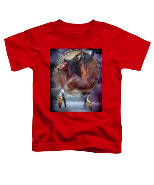 Dream Catcher - Spirit Horse Toddler T-Shirt