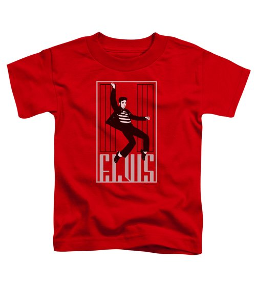 Elvis - One Jailhouse Toddler T-Shirt by Brand A