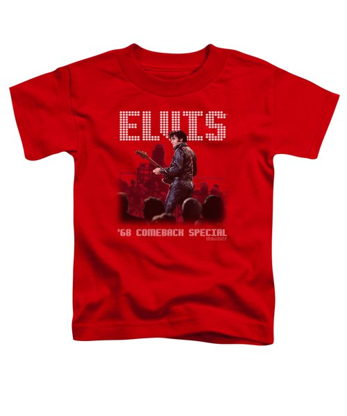 Elvis - Return Of The King Toddler T-Shirt by Brand A