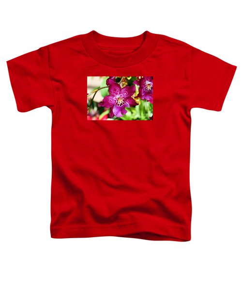 Fabulous Fushia Orchids By Diana Sainz Toddler T-Shirt