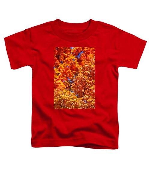 Fall Foliage Colors 17 Toddler T-Shirt