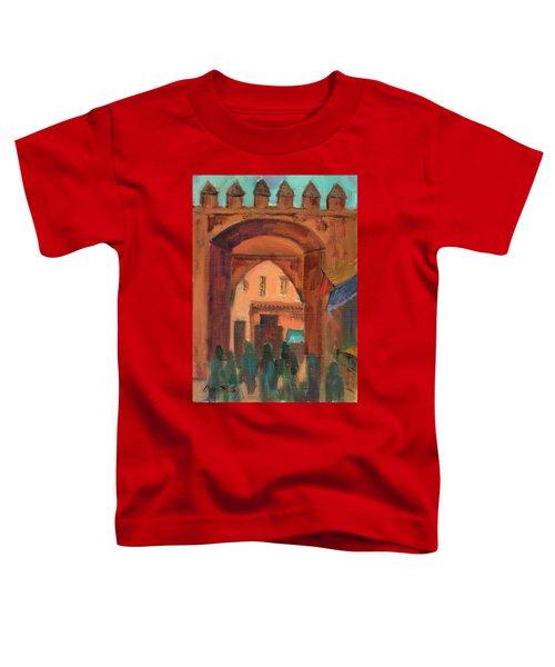Fez Town Scene Toddler T-Shirt