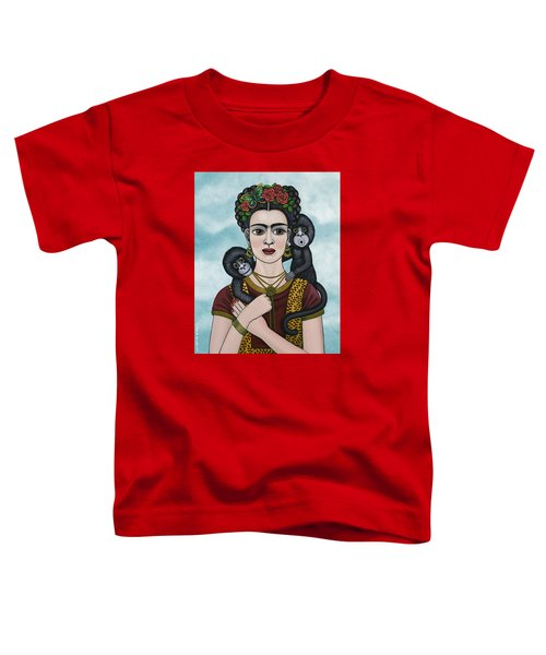 Frida In The Sky Toddler T-Shirt