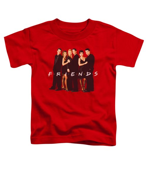 Friends - Cast In Black Toddler T-Shirt