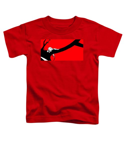 Girl On The Tree Of Time Red Toddler T-Shirt