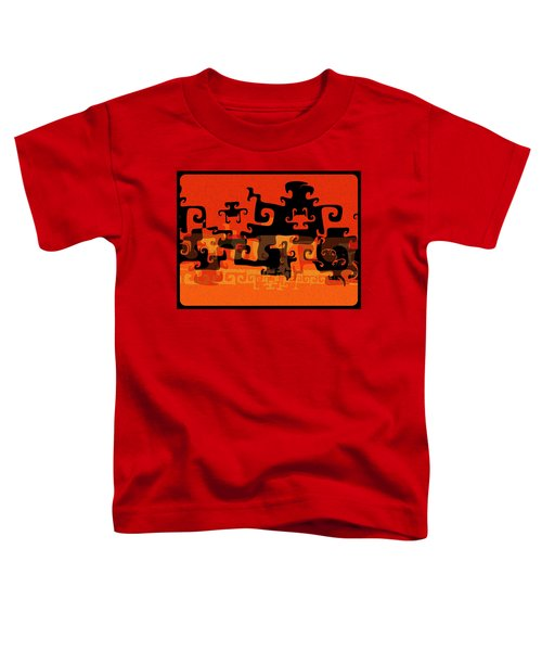 Gnarly Silhouette Parade Toddler T-Shirt