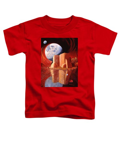 God Is In The Moon Toddler T-Shirt