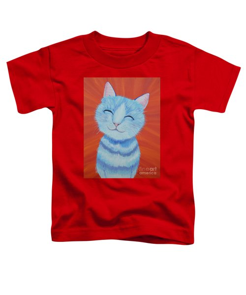 Happy Cat Toddler T-Shirt