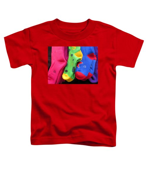 Wear Loud Socks Toddler T-Shirt
