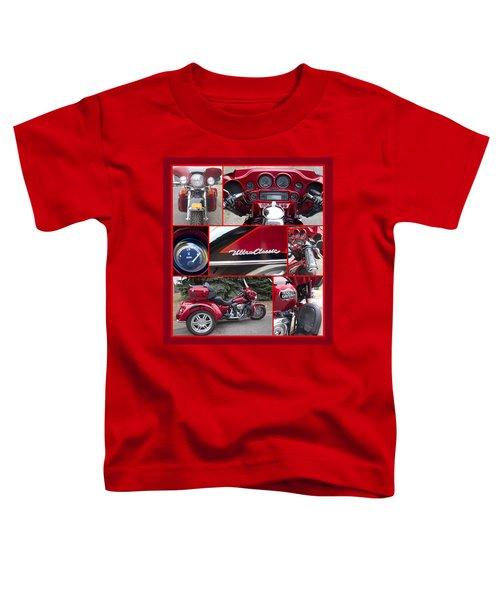 Harley Davidson Ultra Classic Trike Toddler T-Shirt