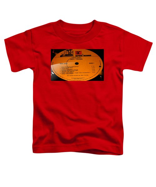 Harvest - Neil Young Side 1 Toddler T-Shirt