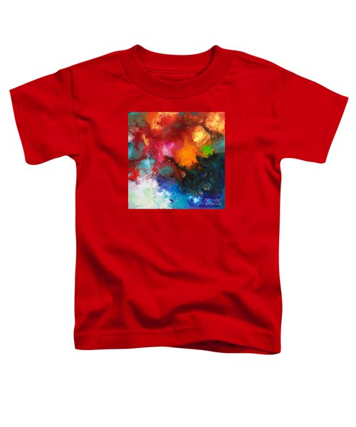 Holding The High Watch Canvas Three Toddler T-Shirt