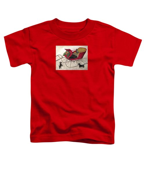 Hoping For A Sleigh Ride Toddler T-Shirt