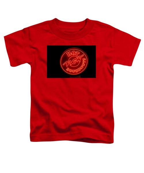 Hot Now Krispy Kreme Toddler T-Shirt