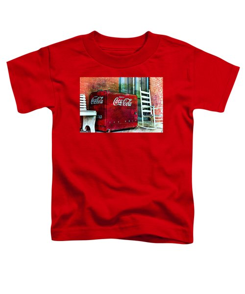 Ice Cold Coca Cola Toddler T-Shirt