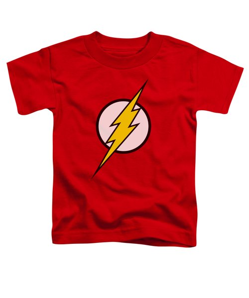 Jla - Flash Logo Toddler T-Shirt