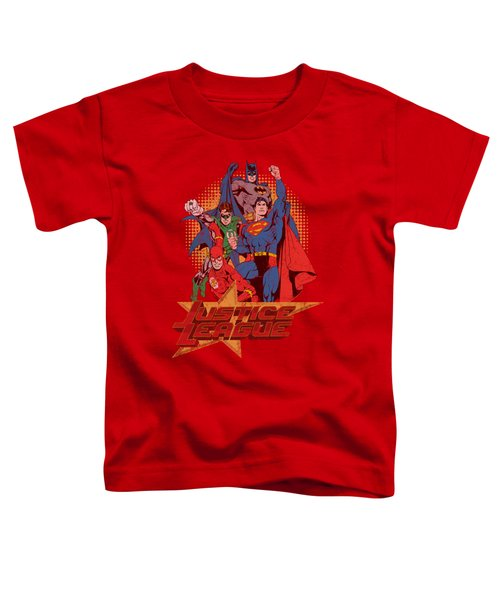 Jla - Raise Your Fist Toddler T-Shirt
