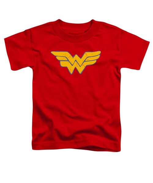 Jla - Rough Wonder Toddler T-Shirt