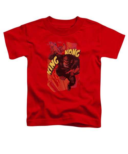 King Kong - Plane Grab Toddler T-Shirt by Brand A