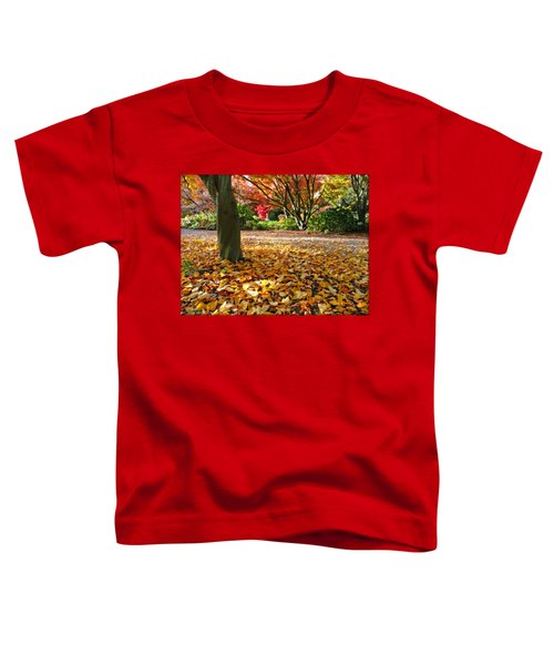 Leaves And More Leaves Toddler T-Shirt