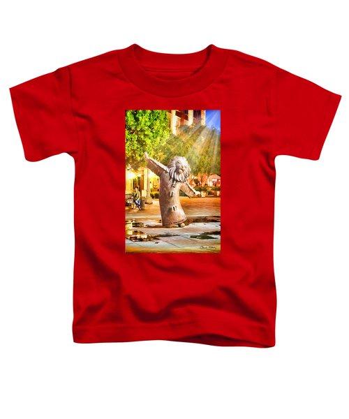 Lion Fountain Toddler T-Shirt