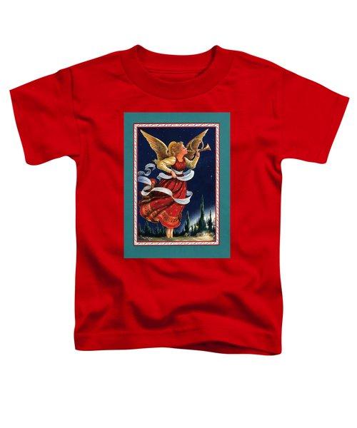 Little Town Of Bethlehem Toddler T-Shirt