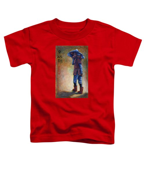 Lucky Red Boots Toddler T-Shirt