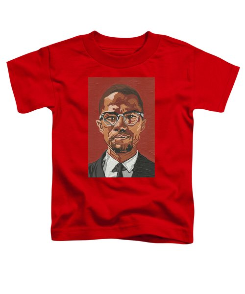 Malcolm X Toddler T-Shirt