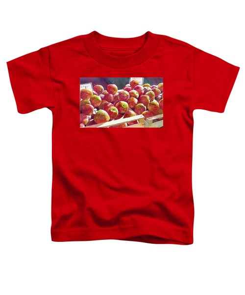 Market Apples Toddler T-Shirt