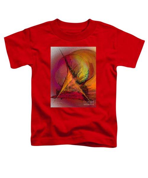 Moonstruck-abstract Art Toddler T-Shirt