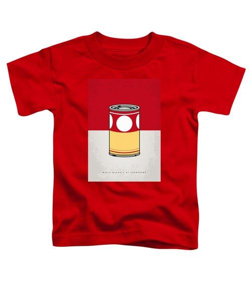 My Mario Warhols Minimal Can Poster-mushroom Toddler T-Shirt